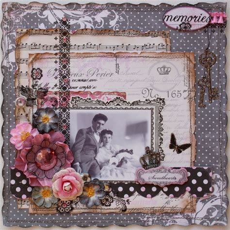 creative and romantic scrapbooking ideas such a pretty mess whimsical romantic february kits
