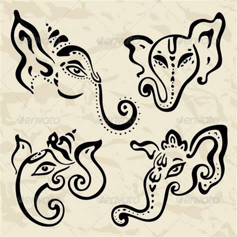 abstract ganesha tattoo designs pinterest discover and save creative ideas