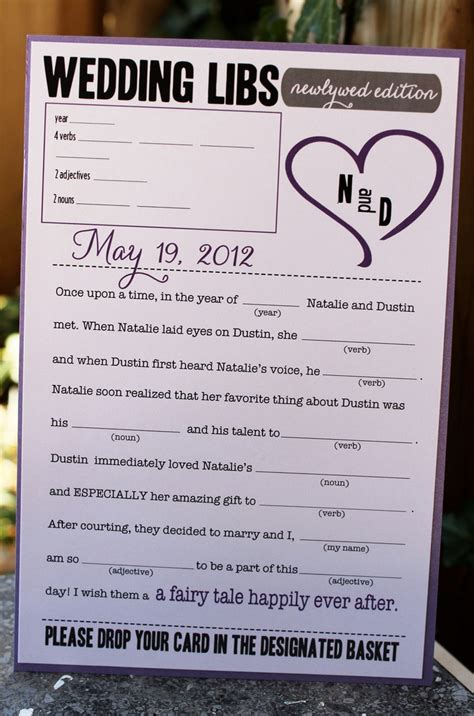 10 images about madlibs for wedding on receptions my wedding and