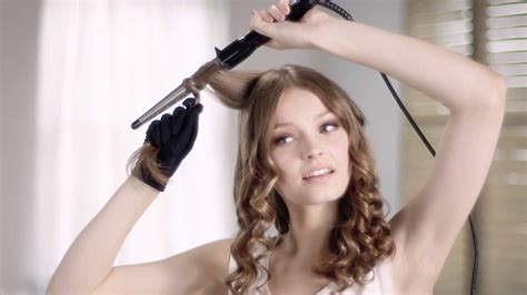 bridesmaid hairstyles useing a curling wand how to use babyliss curling wand pro youtube