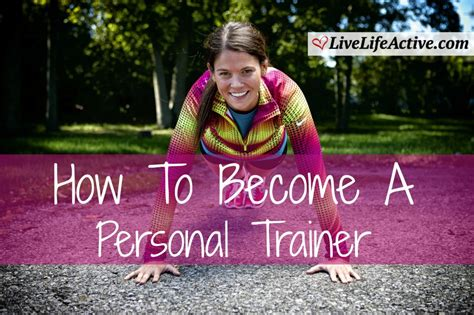 become a trainer how to become a personal trainer defenderauto info
