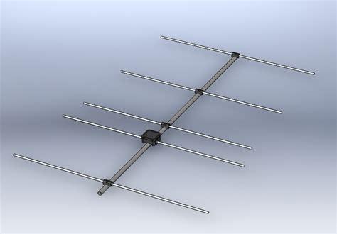 dilshan r jayakody s web log homebrew 5 element yagi antenna for 144mhz