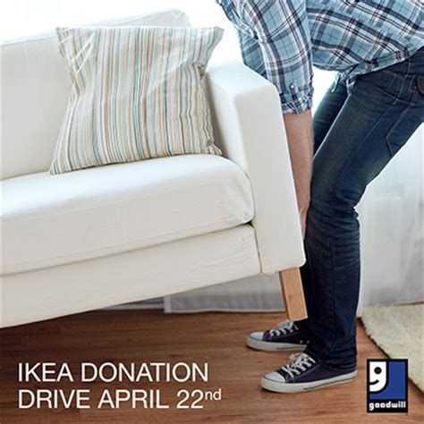 ikea furniture donation ikea donation drive goodwill of greater washington