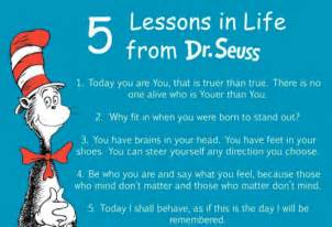Dr Suess Quote On Love by Inspirational Dr Seuss Quotes On Love Life And Learning