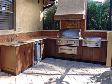 outdoor kitchen cabinets plans