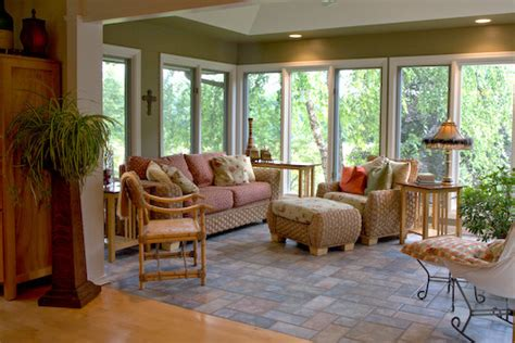 Interior Pictures Of Sunrooms Sunroom Traditional Family Room Milwaukee By