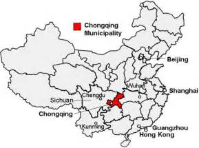 Chongqing maps detailed china chongqing attraction amp yangtze cruise