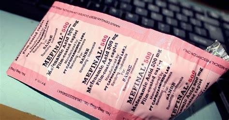 Obat Asam Lambung Kimia Farma mefinal 500 mg medica farma