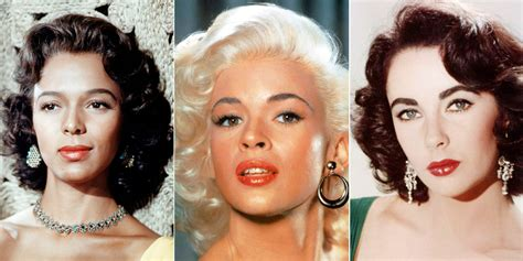 black hairstyles in the 50s the 1950s screen sirens whose coiffed curls we still love
