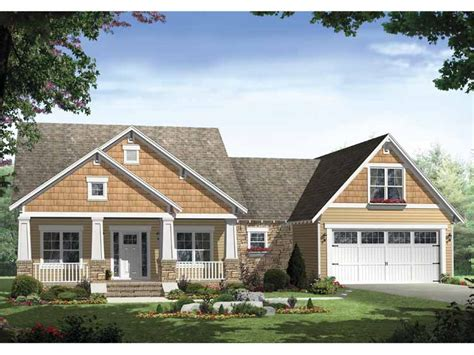 one story craftsman style homes floor plans aflfpw25079 1 story craftsman home with 3