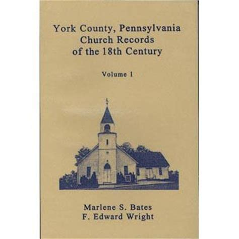 York County Pa Search York County Pennsylvania Church Records Of The 18th Century Vol 1 Masthof