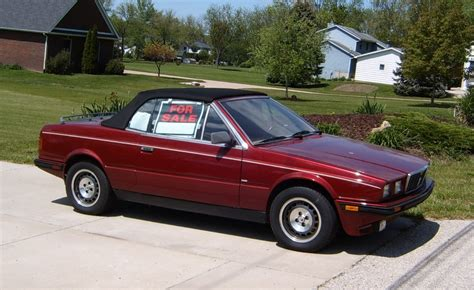 old maserati biturbo curbside classic 1986 maserati biturbo spyder do you