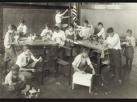 woodwork at school as morality american craft council