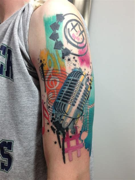 blink 182 tattoo blink 182