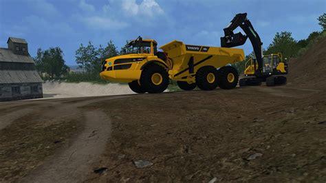 Tp Big volvo a40g fs v1 0 farming simulator modification farmingmod