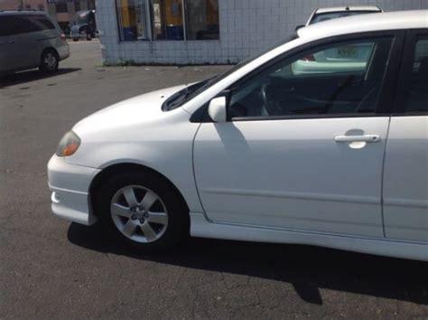 2005 Toyota Corolla Manual Sell Used 2005 Toyota Corolla S Sedan No Reserve 5 Speed
