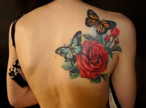 rose tattoos on girls 30 awesome designs for