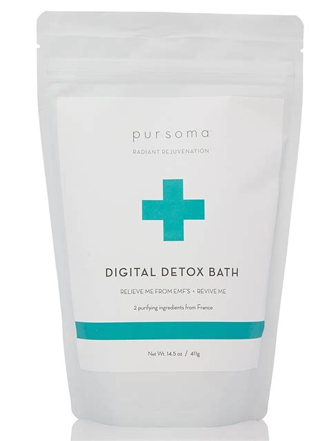 Detox Amzaon by Pursoma Organic Vegan Resurrection Bath