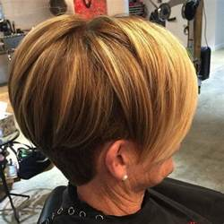 stacked haircuts for 50 stacked bob haircut women over 50 short hairstyle 2013