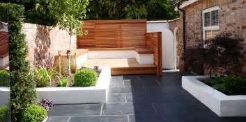 Small Contemporary Garden Ideas Contemporary Garden Leaf Gardens Outdoors Contemporary Gardens