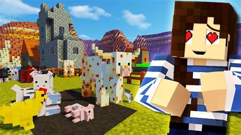 farm animals  minecraft youtube