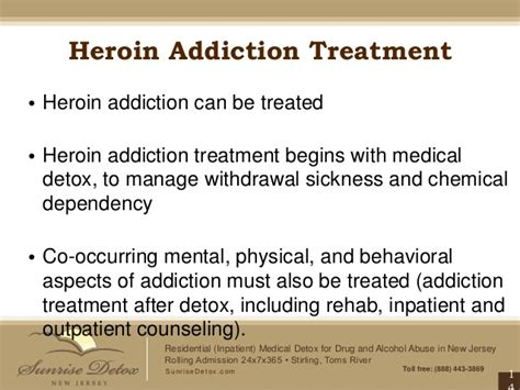 Inpatient Opiate Detox by Heroin Addiction Treatment In New Jersey Bags Bundles