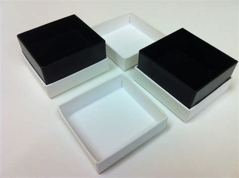 white ring box products platinum packaging