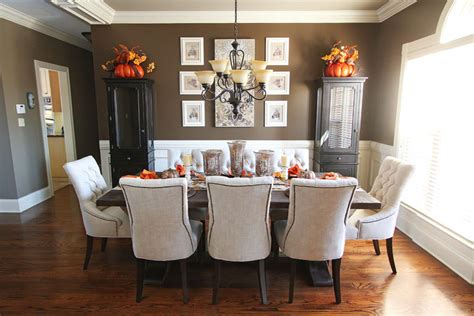Dining Room Tables Decor Fall Dining Room Table Kevin Amanda Food Travel