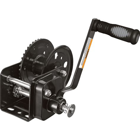 Sellery Winch 1200 Lbs ultra tow brake winch 1 200 lb capacity winches 1 000 1 999 lbs northern tool