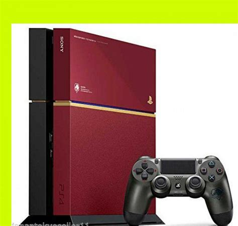 ps4 console playstation4 console metal gear solid v phantom ps4