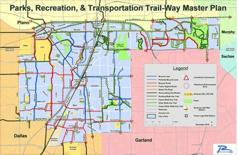 maps bike friendly richardson
