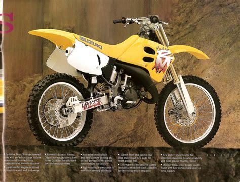 1995 Suzuki Rm250 1995 Suzuki Rm Rmx Brochure Fullfloater Suzuki Rm