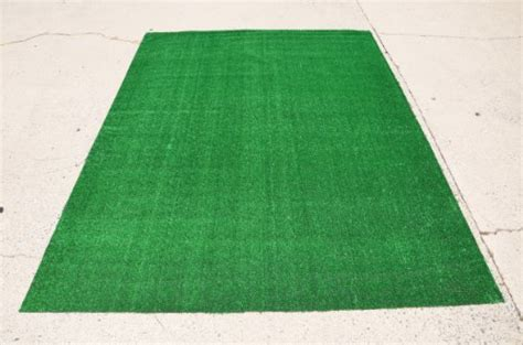 Buy Outdoor Rug Indoor Outdoor Green Artificial Grass Turf Area Rug 6 X8 Carpet Ttile Flooring