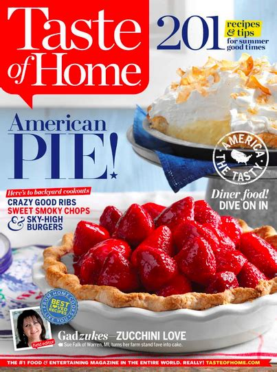 taste of home magazine only 6 97 a year
