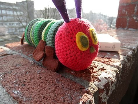 crochet pattern very hungry caterpillar through my quot i quot s resource round up the very hungry