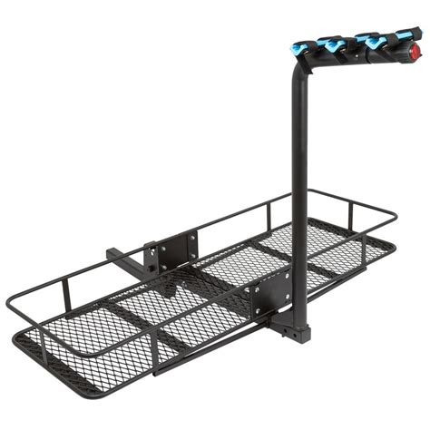 Trailer Hitch Racks Carriers by Steel Cargo Carrier And 2 To 3 Bike Carrier Combo Bccb Bdx