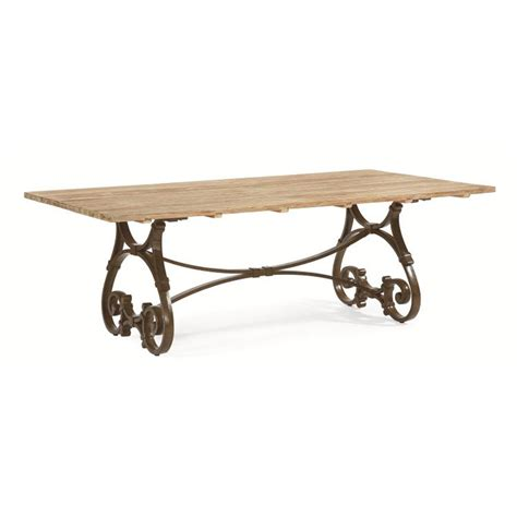 table jardin discount century d29 95 1 maison jardin 84 inch rectangular trestle table discount furniture at hickory