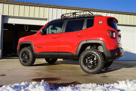jeep renegade stance jeep renegade trailhawk daystar 1 5 quot lift 225 75r16