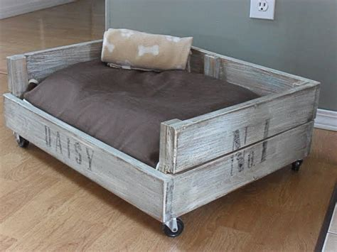 puppy bed in crate how to make crate bed diy crafts handimania