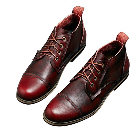 business boots c big size men formal business boots lace up pointed toe