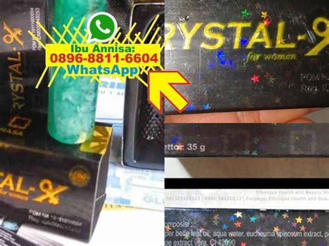 Distributor Cristal X Nasa Asli Original Terlaris distributor x nasa x asli