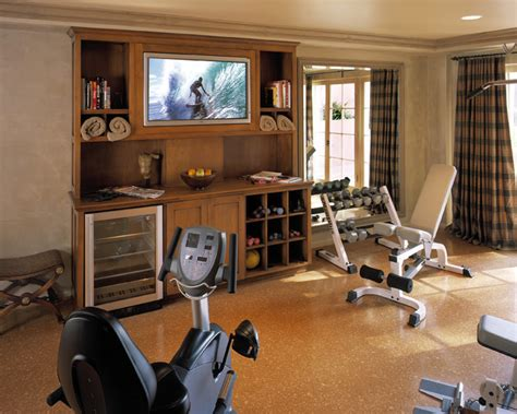 home gym decor client photos traditional home gym los angeles by