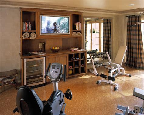 home gym decor client photos traditional home gym los angeles by reaume construction design