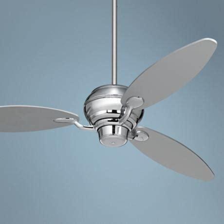 60 quot spyder chrome three blades ceiling fan