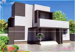 Simple Modern House by Simple Modern House In 88 Square Meter Home Kerala Plans