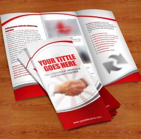 tri fold brochure templates psd 60 free premium psd brochure templates webprecis