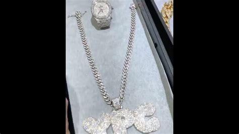 nba youngboy buys    ice  big diamond