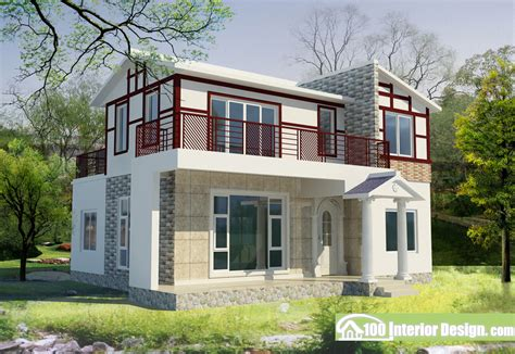 home design for village chinese village house design