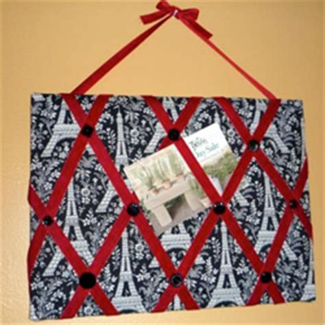 pattern for french memo board handmade gift ideas french memo board craftster blog