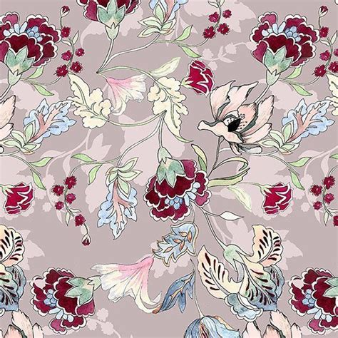 patternbank premium beautiful hand drawn painted design with 2 colour